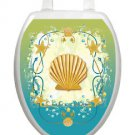Toilet Tattoos Toilet Lid Cover  Decor Shell Game Removable Vinyl 1017