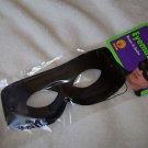 Eyemask Black Costume Elastic Holder Polyester and Plastic Eye Mask Masquerade