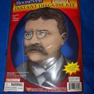 Theodore Roosevelt Teddy Disquise  President 1900's Man Wig Mustache Eyeglasses