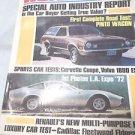 Road Test Magazine Pinto Wagon  May 1972 Vintage Corvette Coupe
