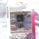 Nail Jewels and Top Coat 180 Jewels Sassy Chic Manicure