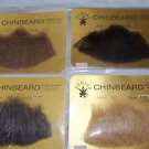 Goatee Chin Beard Human Hair #2022   Black  Blond  Dk Gray  Lt Brown Med Brown