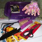 Gift Gardening Tool Box Garden Tools, Gloves, Tape, Seeds Creation