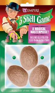 Magic Shell Game Magical Masterpiece with Illustrated Instructions Party Fun
