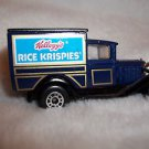 Matchbook Car Die Cast Model A Ford Truck Matchbook Intl Ltd   Rice Krispies
