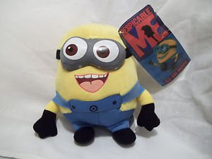 "Minions Plush Doll Despicable Me  Decor 9"" with Hanger SMILING Decoration"