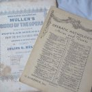 Sheet Music Vintage 1852 Bijou of the Opera  Faust 1906 Lovely Flowers Will Ye