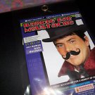 Mustache Handle Bar Human Hair Black or Grey  Moustache Adhesive Tape