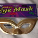 Eye Mask Gold Domino Fabric  Adult Woman's FREE SHIPPING
