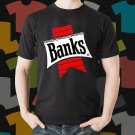 New Banks Beer Promo Brewery Black T-Shirt Tee Size S - 3XL