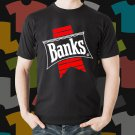 New Banks 1 Beer Promo Brewery Black T-Shirt Tee Size S - 3XL