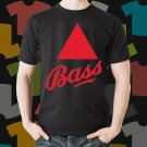 New Bass Beer Promo Brewery Black T-Shirt Tee Size S - 3XL