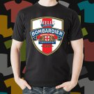 New Bombardier Beer Promo Brewery Black T-Shirt Tee Size S - 3XL