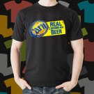 New Carib Lager 1 Beer Promo Brewery Black T-Shirt Tee Size S - 3XL