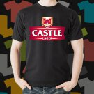 New Castle Lager Beer Promo Brewery Black T-Shirt Tee Size S - 3XL