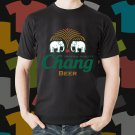 New Chang 1 Beer Promo Brewery Black T-Shirt Tee Size S - 3XL
