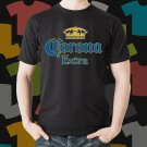 New Corona Extra Beer Promo Brewery Black T-Shirt Tee Size S - 3XL