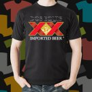 New Dos Equis Beer Promo Brewery Black T-Shirt Tee Size S - 3XL