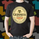 New Guinness Original Beer Promo Brewery Black T-Shirt Tee Size S - 3XL