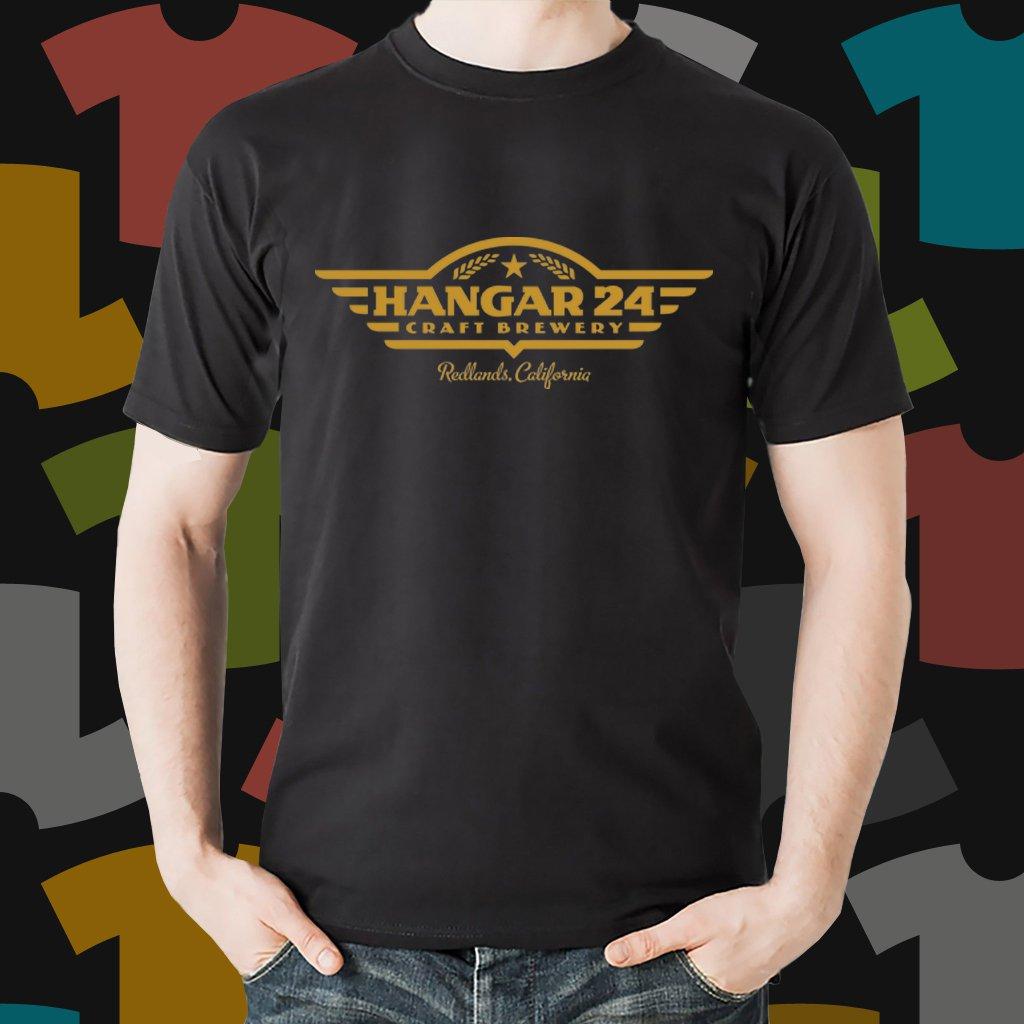 New Hangar 24 Beer Promo Brewery Black T-Shirt Tee Size S - 3XL