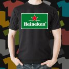 New Heineken Beer Promo Brewery Black T-Shirt Tee Size S - 3XL