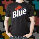 New Labatt Blue 1 Beer Promo Brewery Black T-Shirt Tee Size S - 3XL