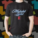 New Michelob Light Beer Promo Brewery Black T-Shirt Tee Size S - 3XL