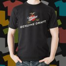 New Miller Lite 2 Beer Promo Brewery Black T-Shirt Tee Size S - 3XL
