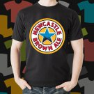 New Castle Brown Ale 3 Beer Promo Brewery Black T-Shirt Tee Size S - 3XL