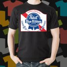 New Pabs Blue Ribbon Beer Promo Brewery Black T-Shirt Tee Size S - 3XL