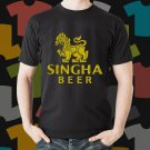 New Singha 1 Beer Promo Brewery Black T-Shirt Tee Size S - 3XL