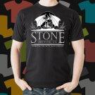 New Stone Arrogant Bastard Ale 2 Beer Promo Brewery Black T-Shirt Tee Size S - 3XL