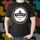 New Tullys Beer Promo Brewery Black T-Shirt Tee Size S - 3XL