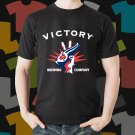 New Victory Beer Promo Brewery Black T-Shirt Tee Size S - 3XL