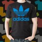 New Adidas Skateboard Logo Extreme Sport Black T-Shirt Tee Size S - 3XL