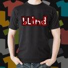 New Blind 1 Skateboard Logo Extreme Sport Black T-Shirt Tee Size S - 3XL