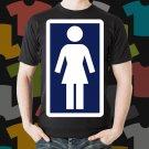 New Girl Skateboard Logo Extreme Sport Black T-Shirt Tee Size S - 3XL