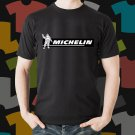 New Michelin Skateboard Logo Extreme Sport Black T-Shirt Tee Size S - 3XL