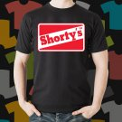 New Shortys Skateboard Logo Extreme Sport Black T-Shirt Tee Size S - 3XL