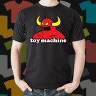 New Toy Machine Skateboard Logo Extreme Sport Black T-Shirt Tee Size S - 3XL