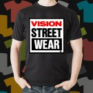 New Vision Street Wear Skateboard Logo Extreme Sport Black T-Shirt Tee Size S - 3XL