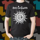 New Alice In Chains Rock Band Logo Black T-Shirt Tee Size S - 3XL