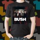 New Bush 1 Rock Band Logo Black T-Shirt Tee Size S - 3XL