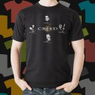 New Creed Rock Band Logo Black T-Shirt Tee Size S - 3XL
