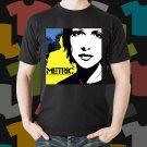 New Metric 1 Rock Band Logo Black T-Shirt Tee Size S - 3XL