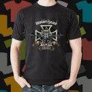 New Motor Head Rock Band Logo Black T-Shirt Tee Size S - 3XL