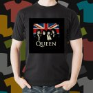 New Queen 1 Rock Band Logo Black T-Shirt Tee Size S - 3XL