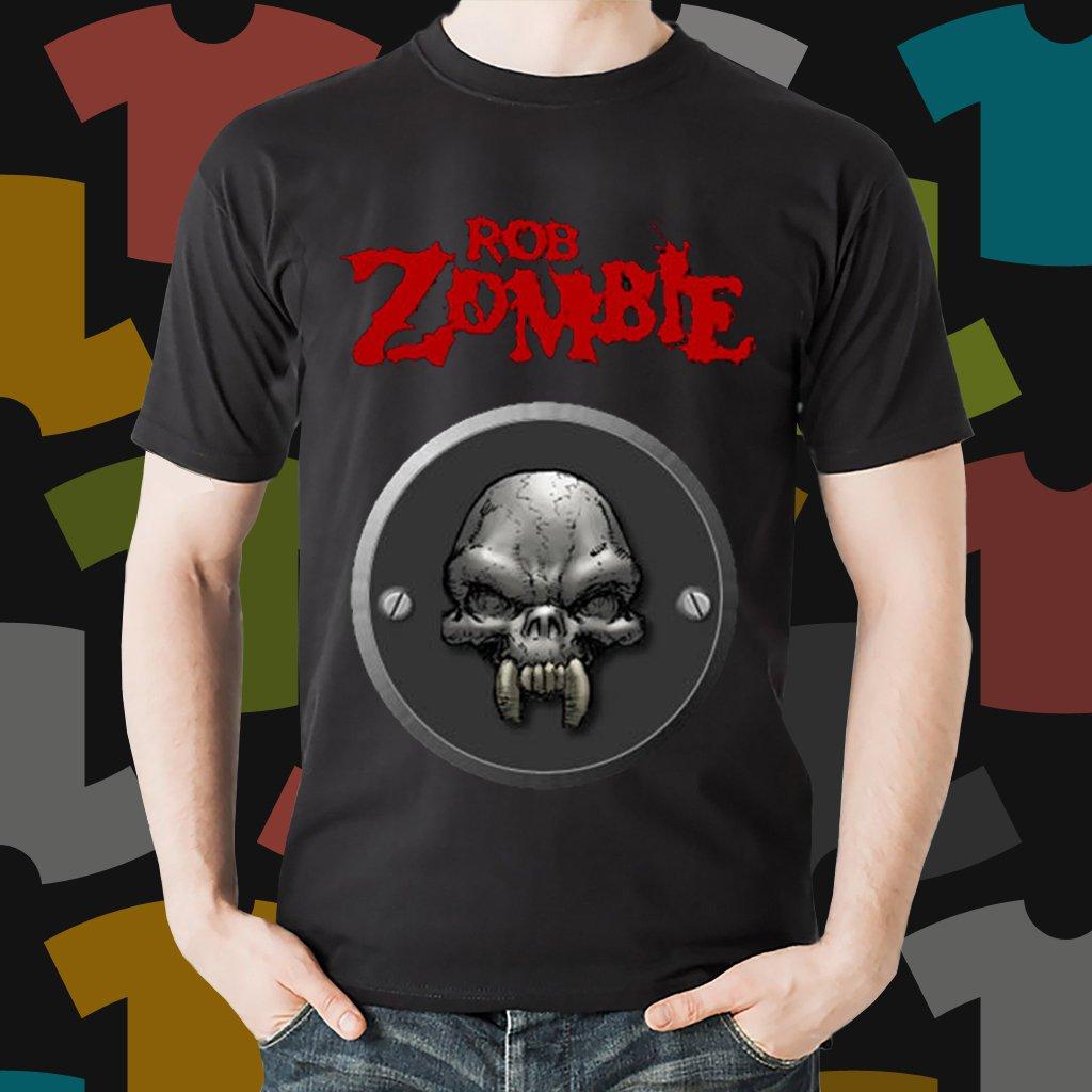 New Rob Zombie Rock Band Logo Black T-Shirt Tee Size S - 3XL