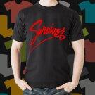 New Survivors 1 Rock Band Logo Black T-Shirt Tee Size S - 3XL
