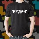 New Testament 1 Rock Band Logo Black T-Shirt Tee Size S - 3XL